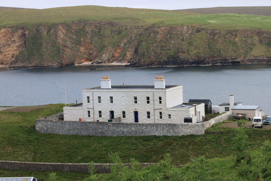 Burravoe Shore Station, Unst.
