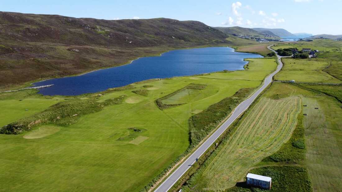Asta Golf Course, Tingwall, Shetland. Photo: Asta Golf Course.
