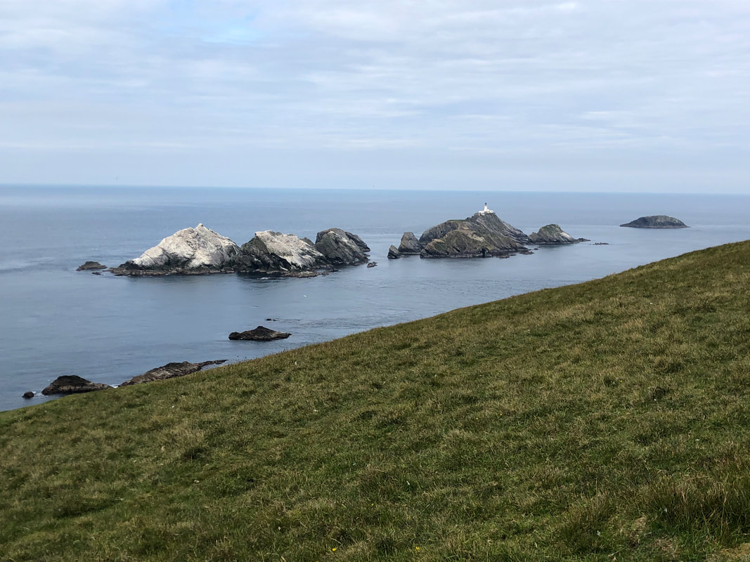 Muckle Flugga: The UK's most northerly point.