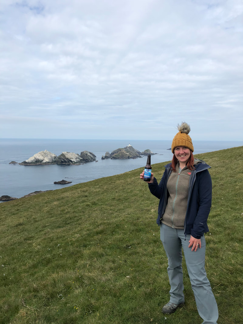 'Cheers' from Muckle Flugga and 60 North!