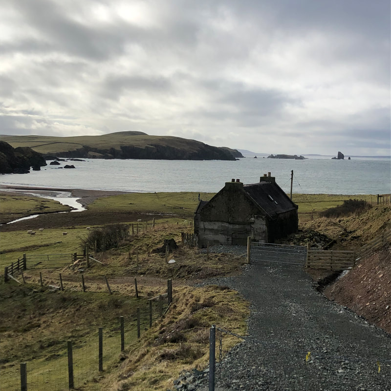 Filming on the new series of Shetland has been suspended amid the virus. This is one of the filming locations from Series One.