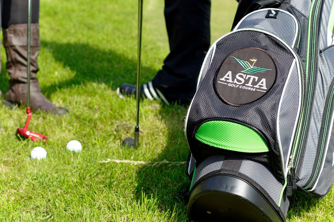 Equipment is available to hire from Asta Golf Club. Photo: Alexa Fitzgibbon.
